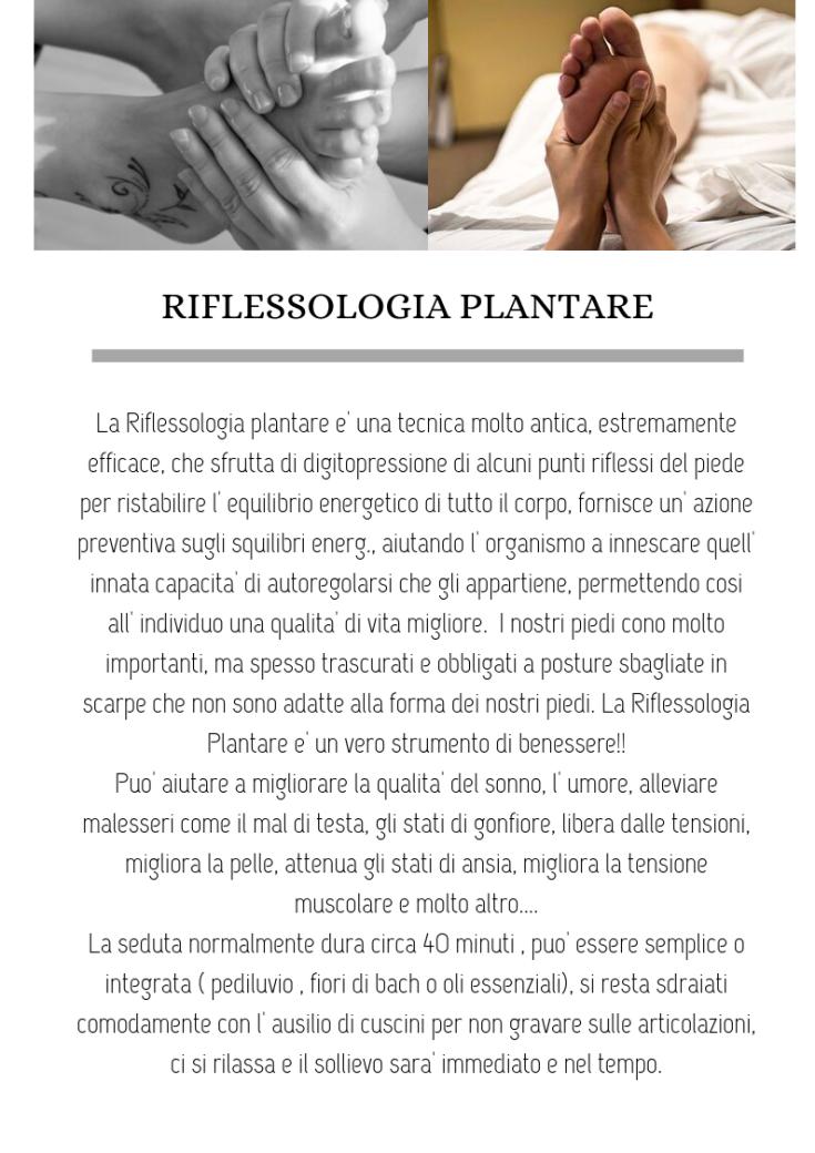 riflessologia plant nuovo